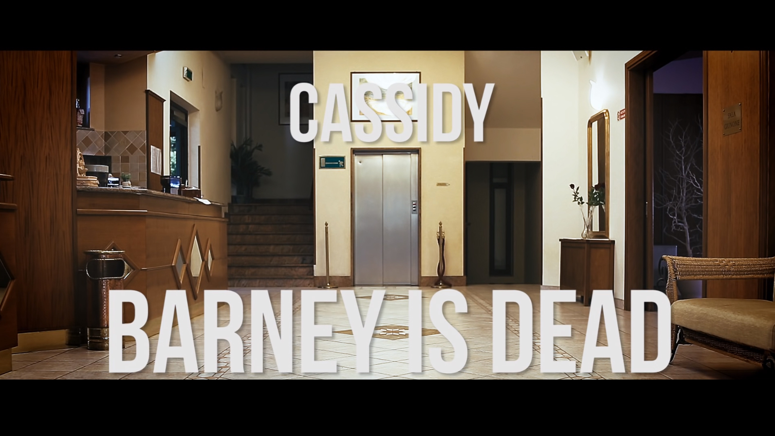 """Cassidy – """"BARNEY IS DEAD"""" official video"""