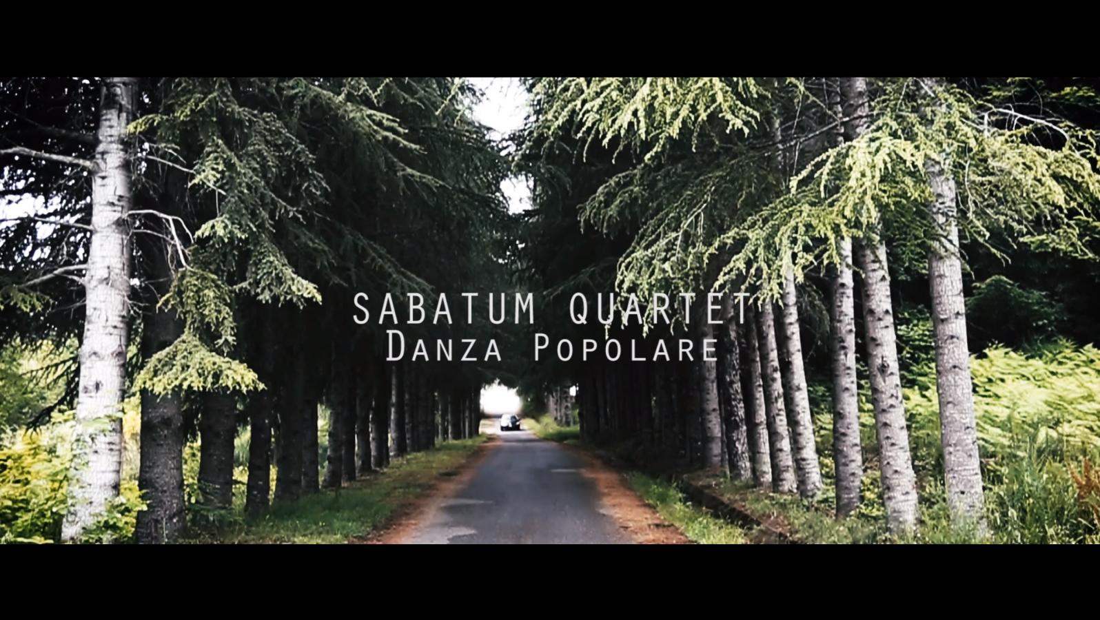 Sabatum Quartet – DANZA POPOLARE