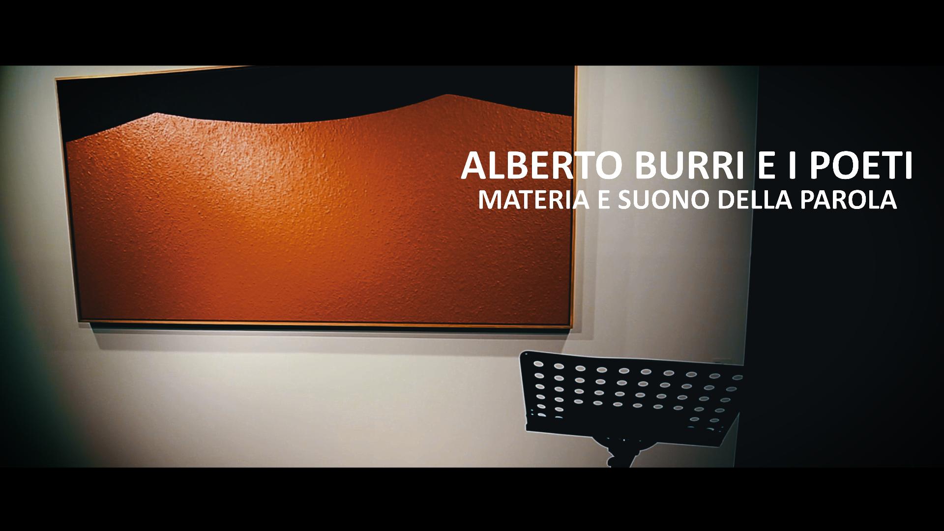 Alberto Burri e i poeti